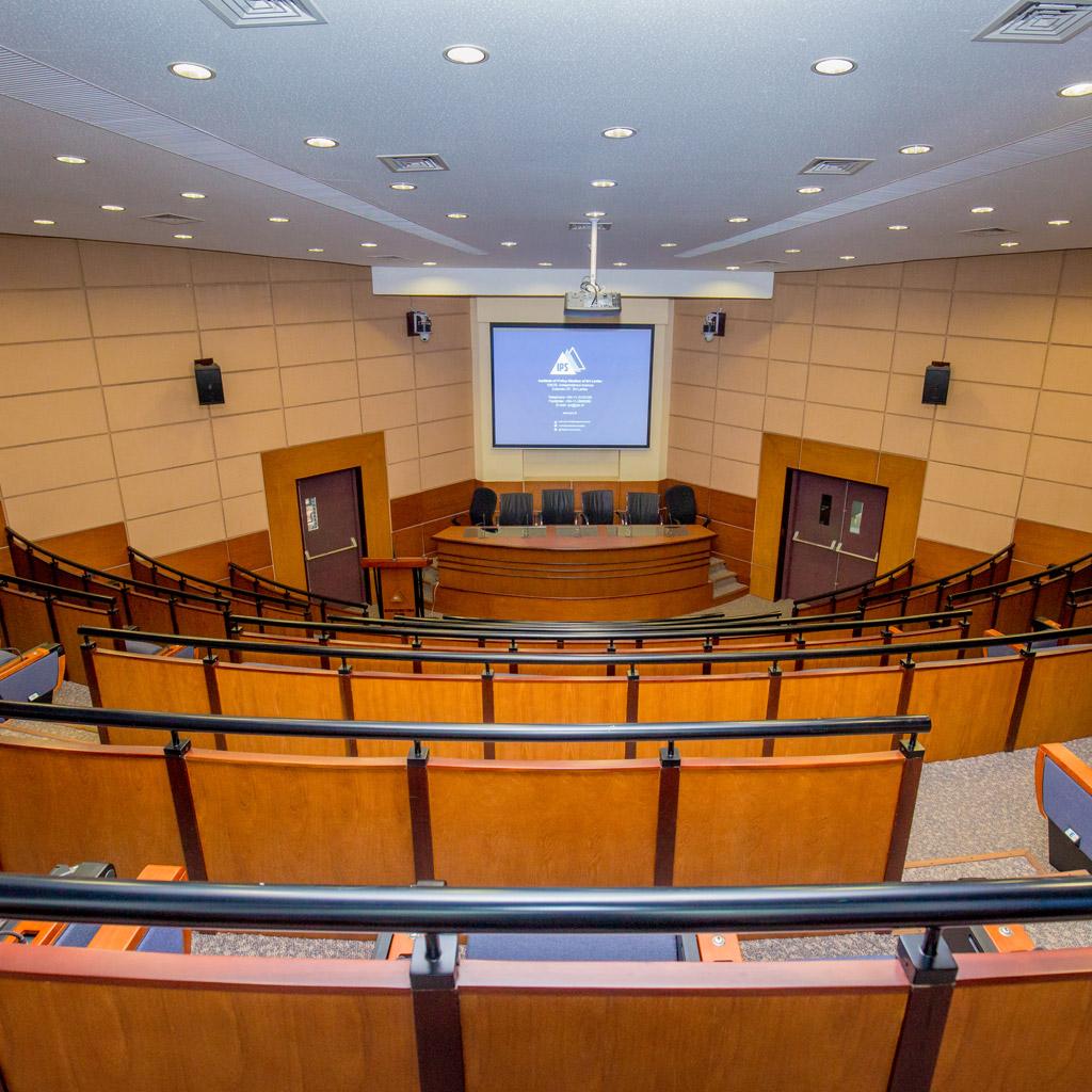 Auditorium | Institute of Policy Studies of Sri Lanka : Institute of