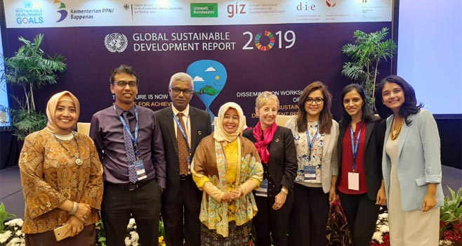 the Global Sustainable Development Report 2019