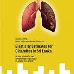Elasticity Estimates for Cigarettes in Sri Lanka
