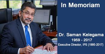 Remembering Dr Saman Kelegama